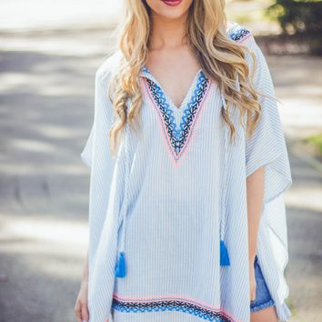 Cabo Tassel Tunic | Cover Up