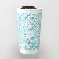 A Profusion of Flowers II Travel Mug by Noonday Design | Society6