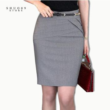 Women Office Formal Casual Sexy Slim Pencil Skirts