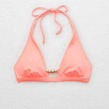 Aerie Super Scoop Beaded Bikini Top , Stargaze