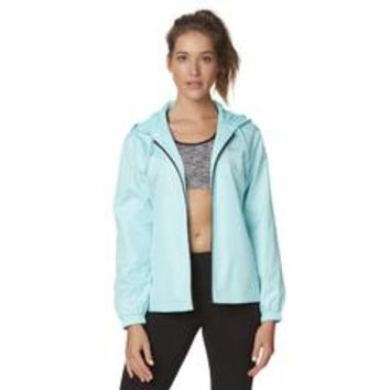 Women's Hooded Windbreaker - Sears