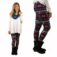 Cute Christmas Patterned Leggings