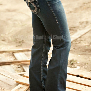BIG STAR REMY LOW RISE BOOT CUT JEAN WITH FLAP POCKET