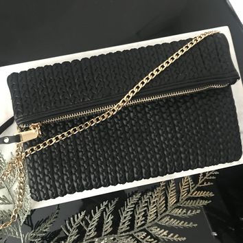 Lucy Braided Crossbody Bag