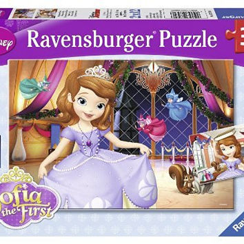 Ravensburger Sophia the First: Princess Sofia Puzzles in a Box (2 x 12 Piece)