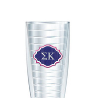 Sigma Kappa Tumbler -- Customize with your monogram or name!
