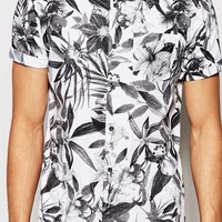 New Look Shirt with Floral Print