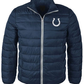 G3 Sports Men's Indianapolis Colts Packable Quilted Jacket
