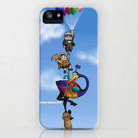 Up We All Go iPhone & iPod Case by Katie Simpson | Society6