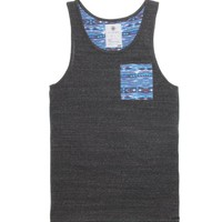 On The Byas Larry Pocket Tank Top - Mens Tee - Gray -