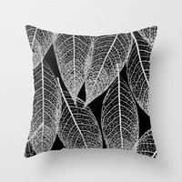 transparency Throw Pillow by Marianna Tankelevich