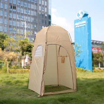 TOMSHOO Camping Tent Outdoor Shower Tent Ship From RU Toilet Tent Bath Changing Fitting Room Beach Tent Privacy Shelter Travel