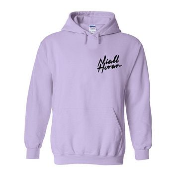 "Niall Horan ""NEW Logo CORNER"" Hoodie Sweatshirt (Sizes 3XL - 5XL)"