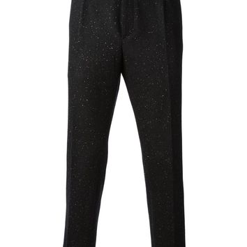 Fendi speckled trousers