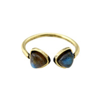 Torchlight Aurora Ring Brass