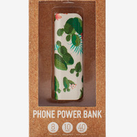Cactus Flower Portable Power Bank