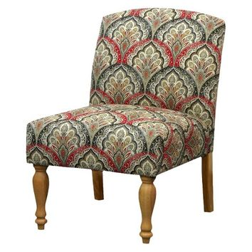 Mudhut™ Upholstered Slipper Chair - Ballard Fire