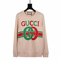 GUCCI popular Women's Men's  Casual Long Sleeve Sweater Pullover Sweatshirt
