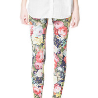 FLORAL PRINT LEGGINGS - Collection - TRF - New collection | ZARA United States
