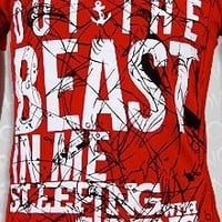 Sleeping with Sirens Beast Red T-shirt