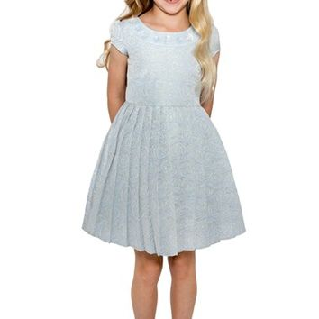 Little Angels Floral Brocade Dress (Toddler Girls & Little Girls) | Nordstrom