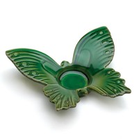 Green Butterfly Tealight Candle Holder
