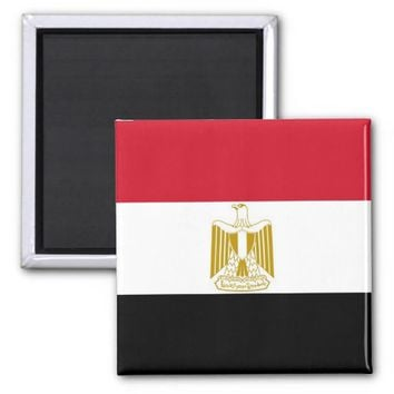 Magnet with Flag of Egypt