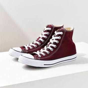 ONETOW Converse Chuck Taylor All Star Maroon High Top Sneaker | Urban Outfitters