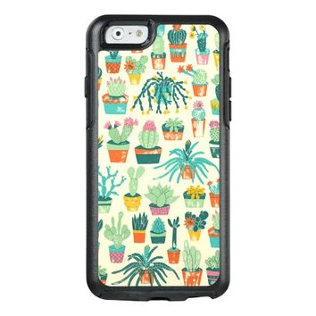Cactus Flower Pattern OtterBox iPhone 6/6s Case