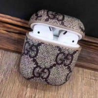Chic GUCCI AirPods Leather Protective Case Cover
