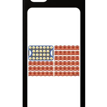 American Breakfast Flag - Bacon and Eggs iPhone 5 / 5S Grip Case  by TooLoud