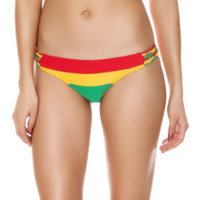 Rasta Swim Bottoms