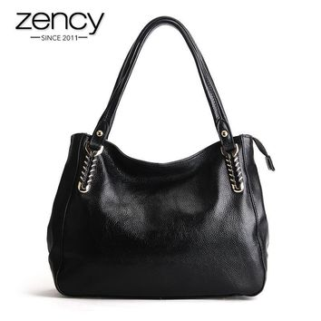 New Genuine Leather Quality Women Handbag Ladies Shoulder Tote Hobo Bag Purse Satchel Designer Brand
