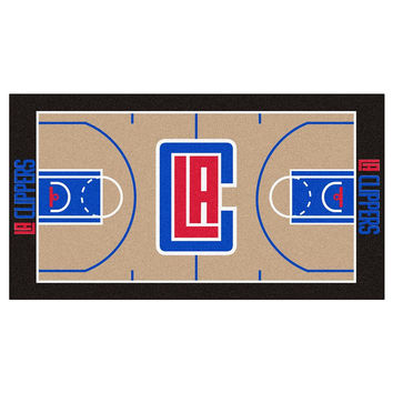 Los Angeles Clippers NBA Large Court Runner (29.5x54)