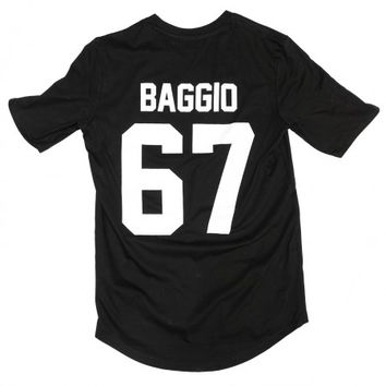 Baggio 67 Legends Shirt Black - BALR.