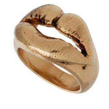 Luxe lips Ring - Jewelry  - Accessories