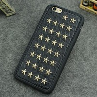 Leather 3D Star Phone Case