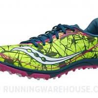 Saucony Shay XC 4 Women's Spikes Citron/Navy/Pink