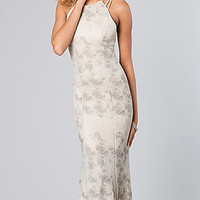 Sleek Open Back Gown for Prom
