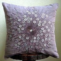 Violet Light  Throw Pillow Covers  20x20 Inches by TheHomeCentric