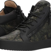 Giuseppe Zanotti Mens May London Camo Mid Top Sneaker