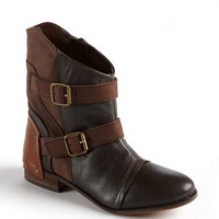 Naughty Monkey Short And Stout Leather Ankle Boots