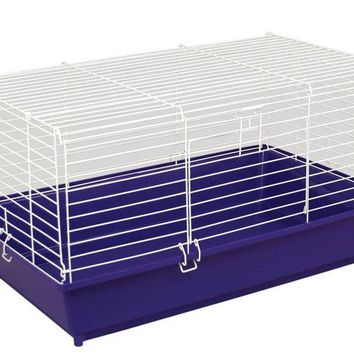 Ware Manufacturing 01990 Home Sweet Home Small Animal Cage, Assorted Colors, 24""