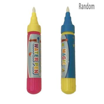 1pc Reusable Magic Water Brush Pen Kids Cloth Book Drawing Pen Magic Water Writting Doodle Pens Non Toxic Clear Painting Toys