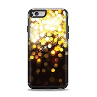 The Gold Unfocused Orbs of Light Apple iPhone 6 Otterbox Symmetry Case Skin Set