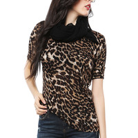 Papaya Clothing Online :: LEOPARD KNIT TOP