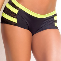 Vertical Vixen Archer Scrunch Back Workout Shorts
