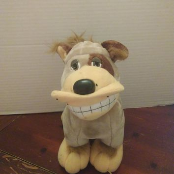 vintage 1990 tonka pooch patrol tan puppy dog plush stuffed animal