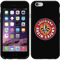 Coveroo, Inc. Louisiana Lafayette Ragin' Cajuns iPhone 6 Switchback Snap-On Case 786-7513-BK-HC (Black)
