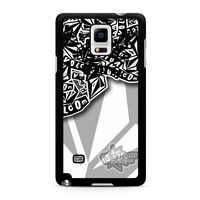 Volcom Inc Apparel and Clothing Stickerbomb Samsung Galaxy Note 4 Case